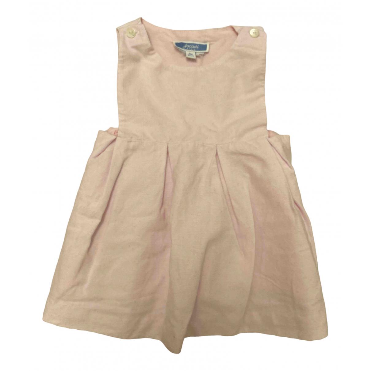 Jacadi \N Kleid in  Rosa Samt