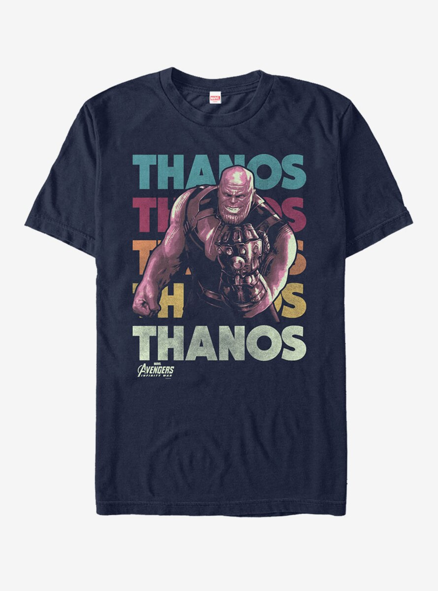 Marvel Avengers: Infinity War Thanos Repeat T-Shirt