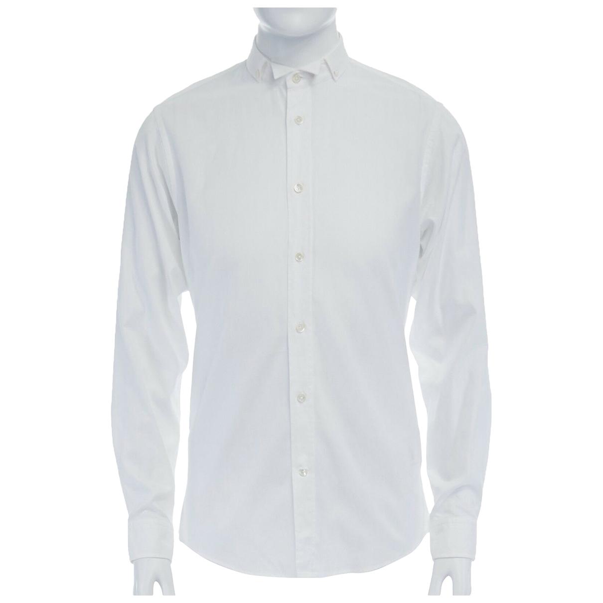 Viktor & Rolf \N White Cotton Shirts for Men 39 EU