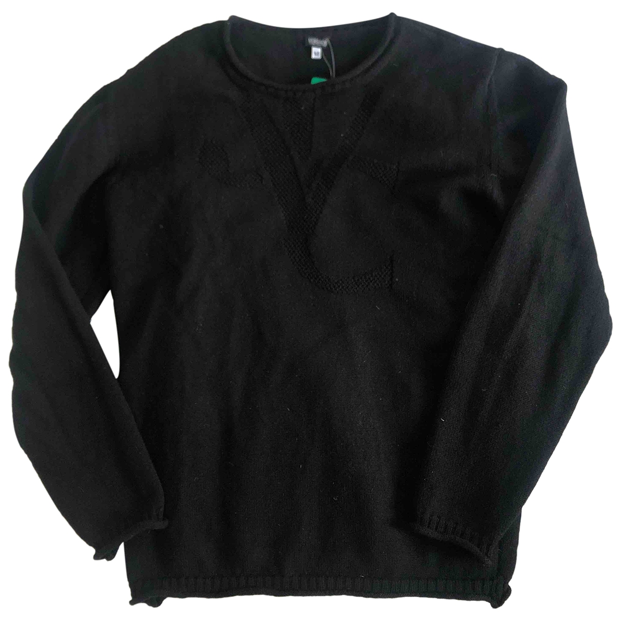 Versace Jeans \N Black Wool Knitwear & Sweatshirts for Men M International
