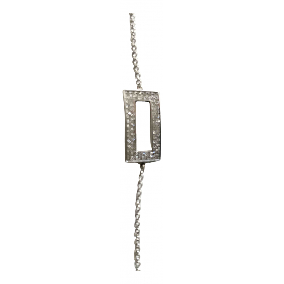Morganne Bello \N Armband in  Silber Weissgold