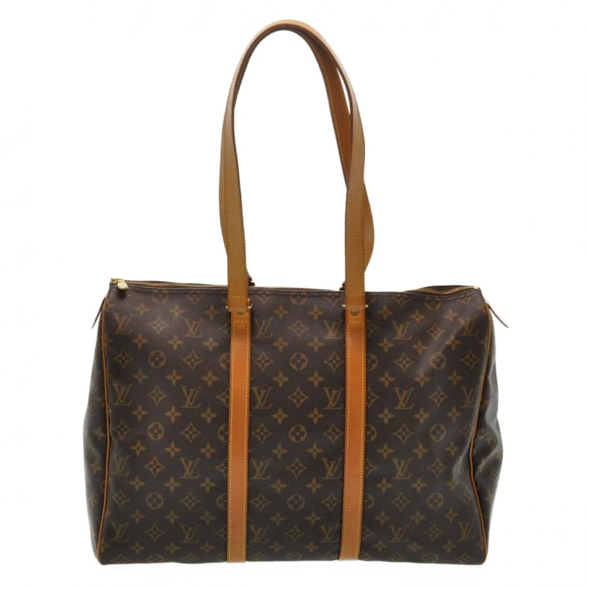 Louis Vuitton Flanerie Handtasche in  Braun Leinen