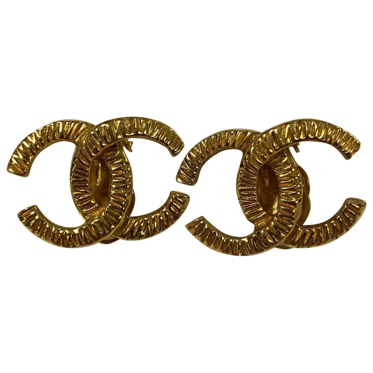 Anillo CC de Oro amarillo Chanel
