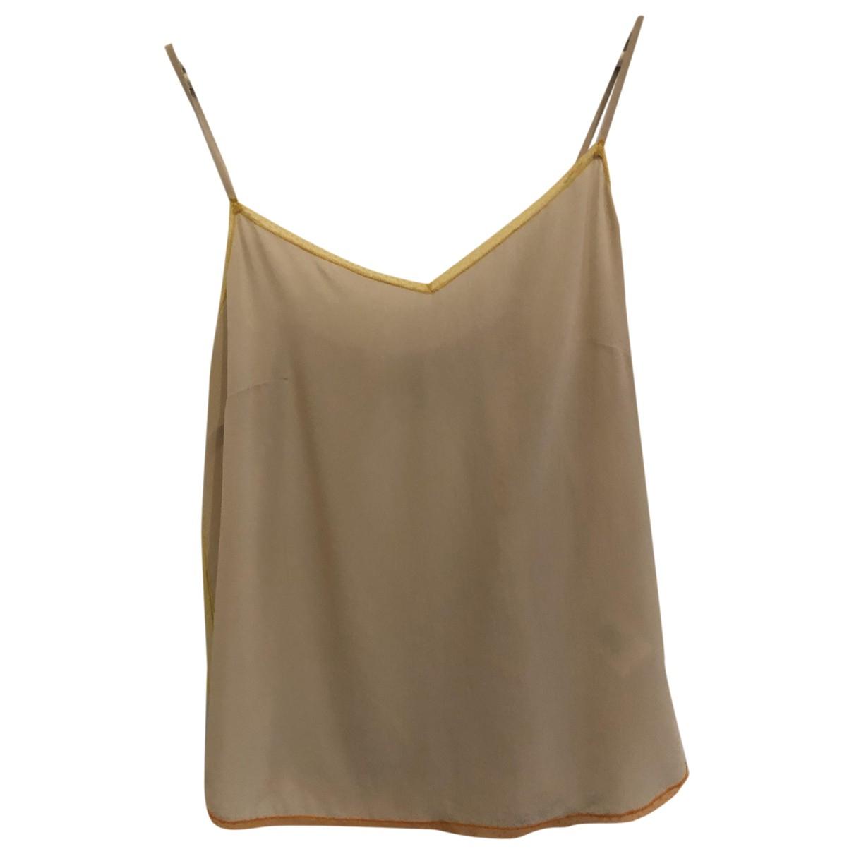 Zadig & Voltaire N Beige Silk  top for Women S International