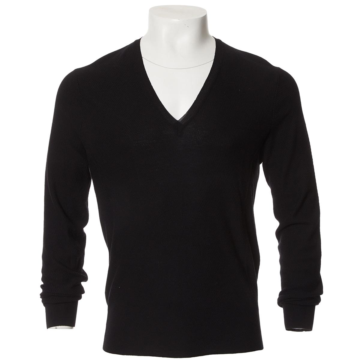 Yves Saint Laurent \N Black Wool Knitwear & Sweatshirts for Men L International