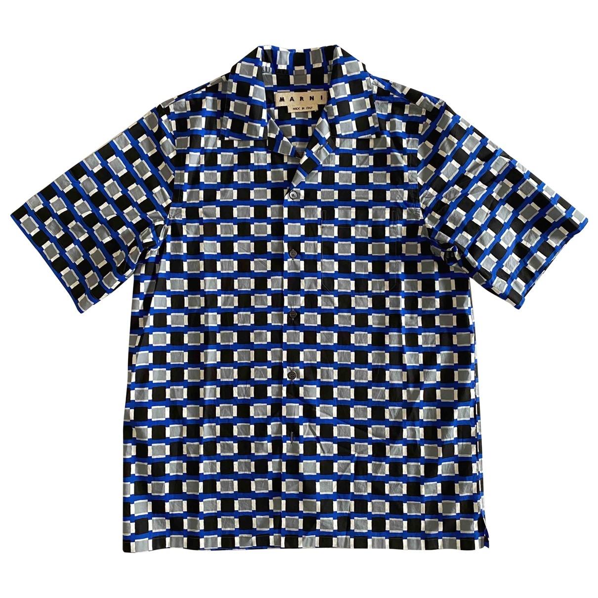 Marni \N Multicolour Cotton Shirts for Men L International