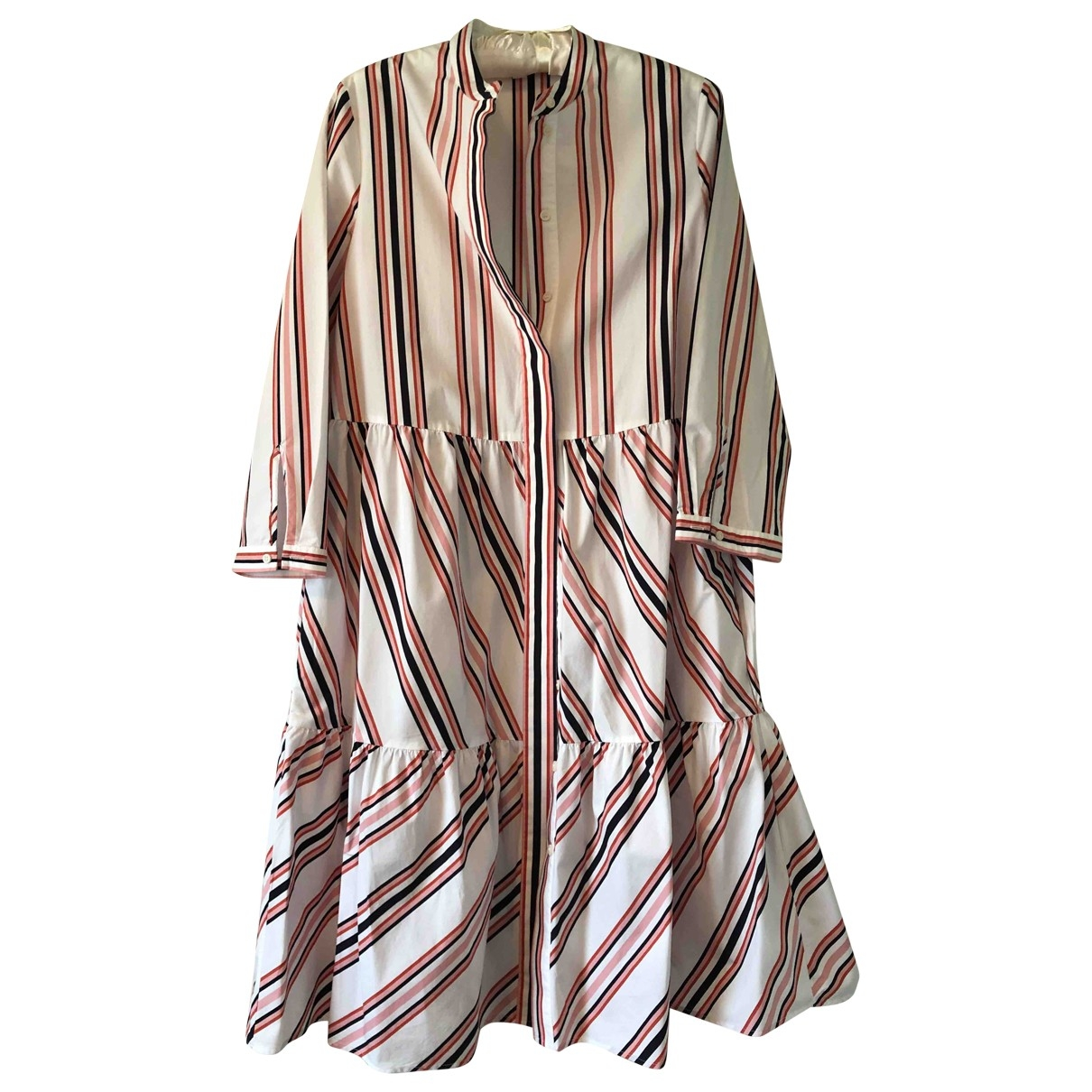 Cos \N White Cotton dress for Women 36 FR