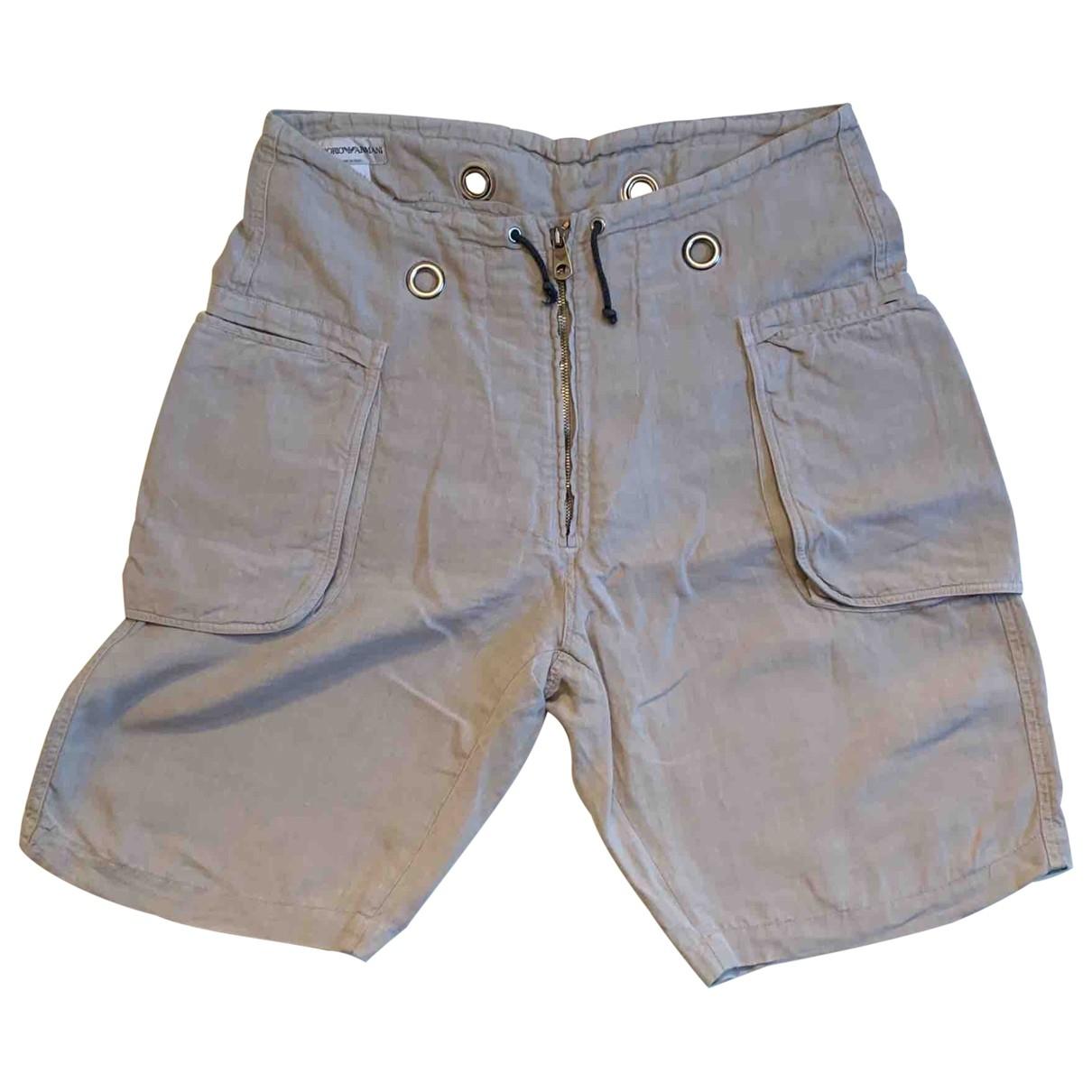 Pantalon corto de Lino Emporio Armani