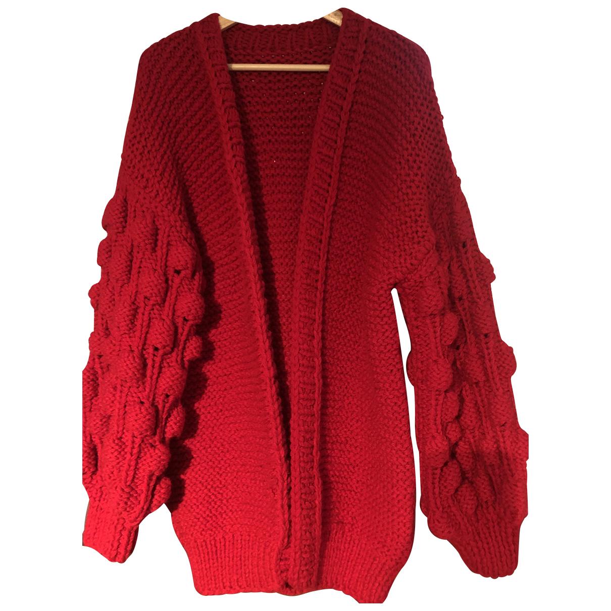 Chaqueta de punto Crochet de Lana Non Signe / Unsigned