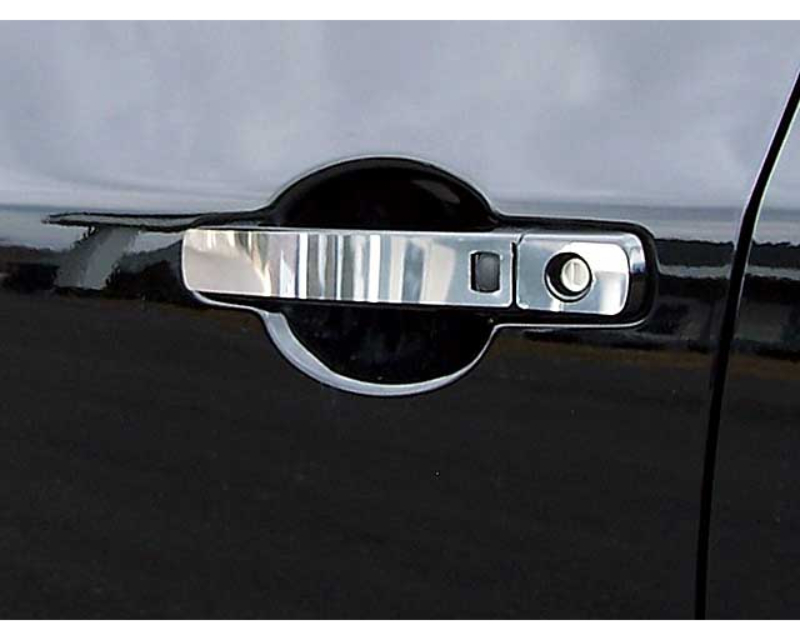 QAA Stainless Steel Door Handle Accent 8Pc 2007-2012 Nissan Altima