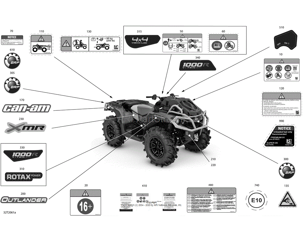 Can-AM OEM Decal
