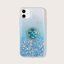 Ombre Sequin iPhone Case With Ring Holder