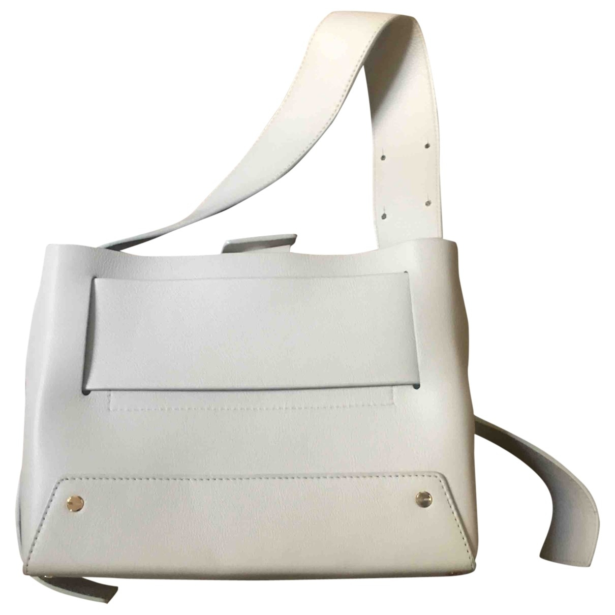 Yuzefi \N Handtasche in  Beige Leder