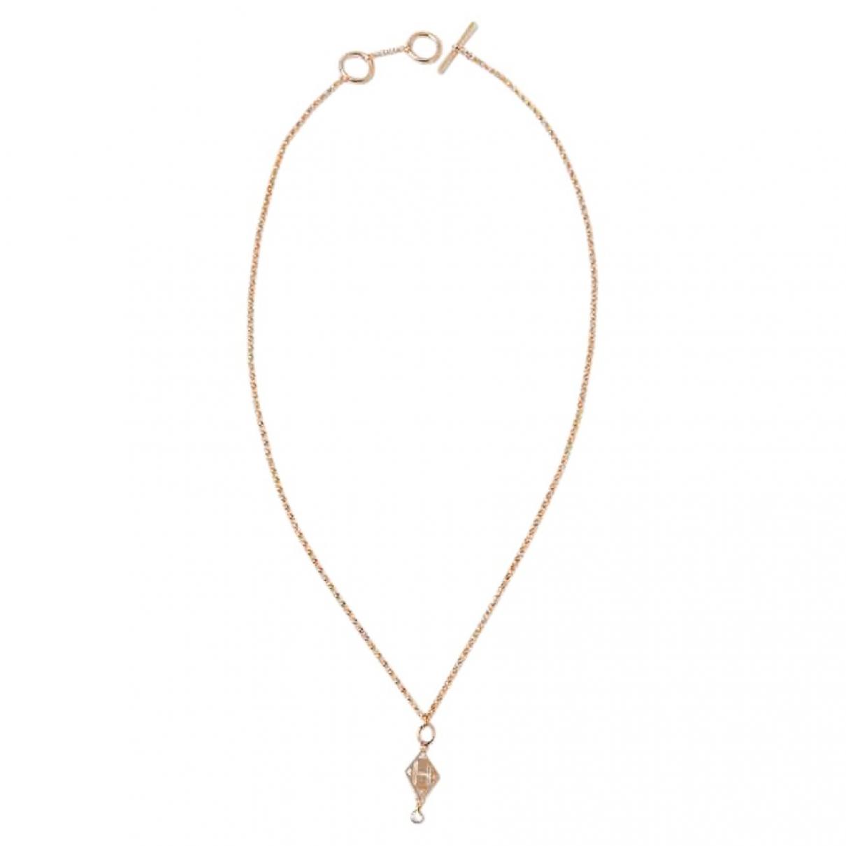Collar de Oro rosa Hermes