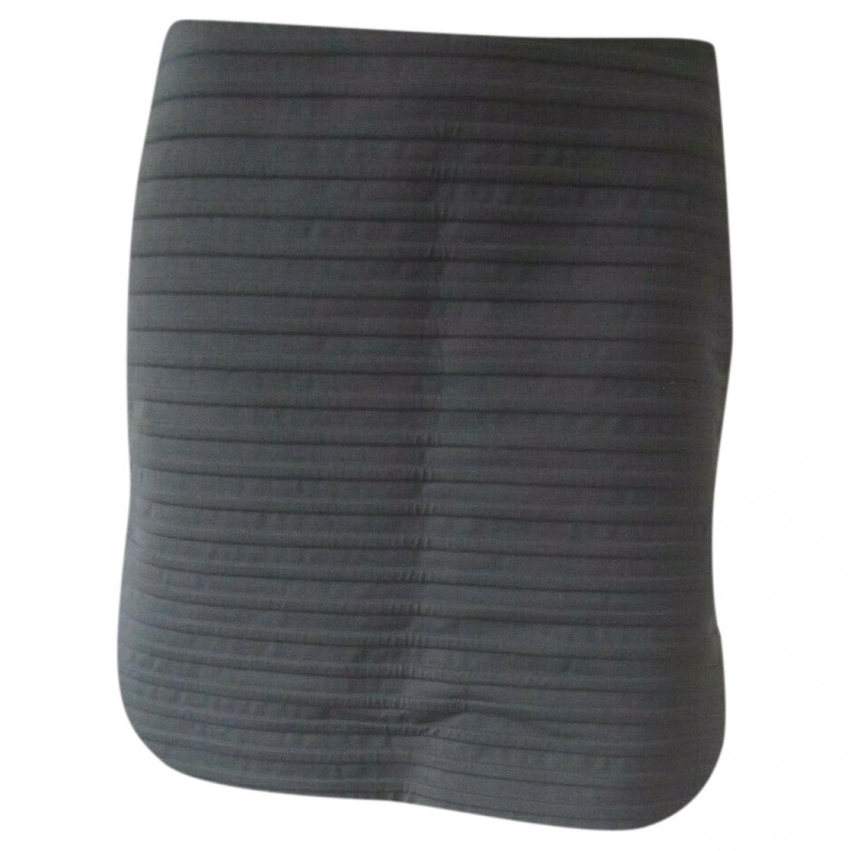Brunello Cucinelli - Jupe   pour femme en coton - gris