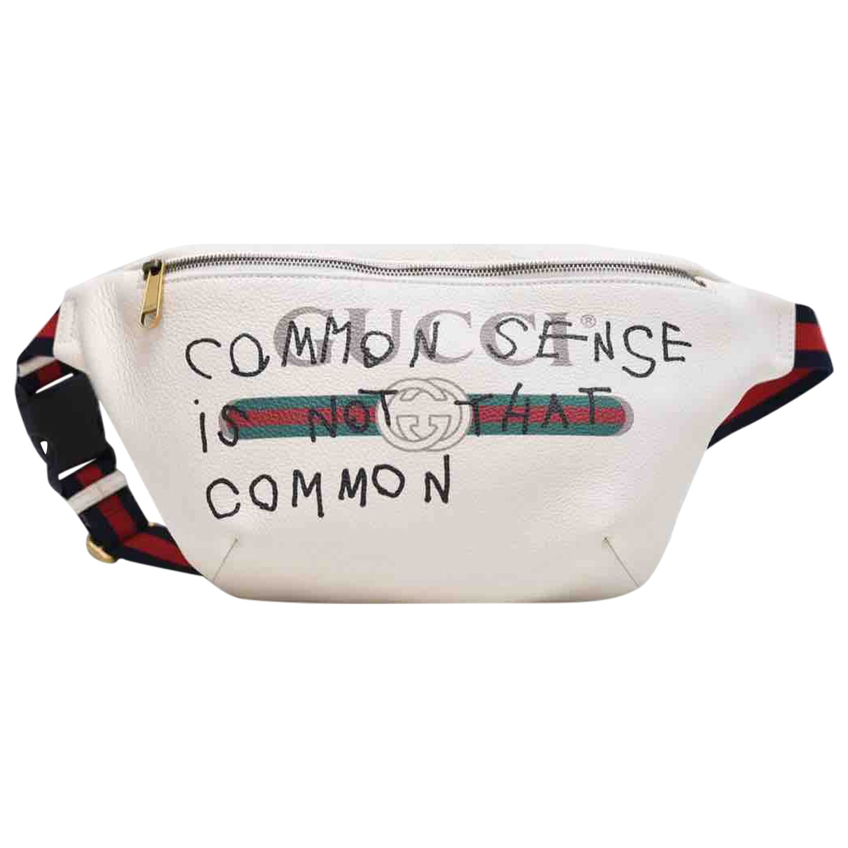 Gucci N White Leather bag for Men N