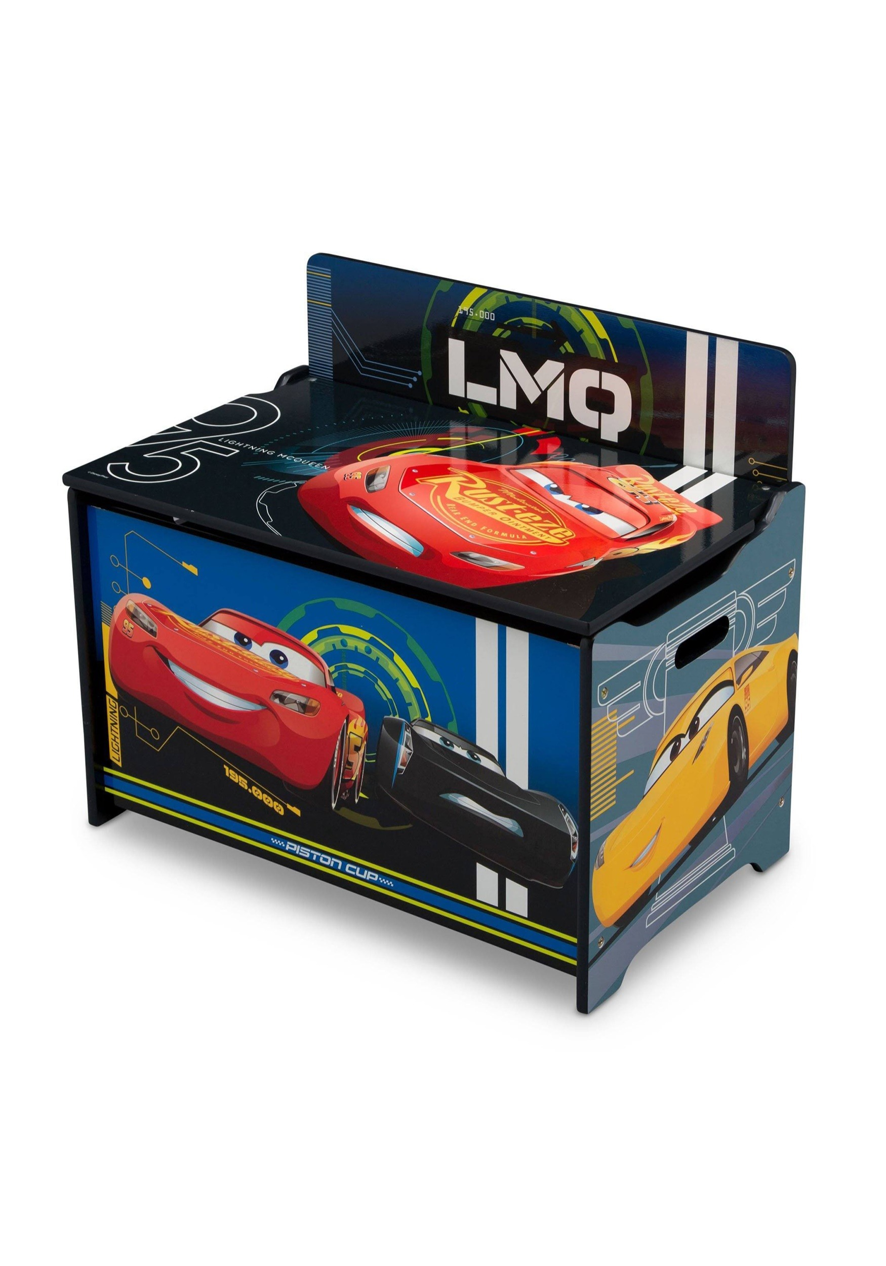 Cars Deluxe Toy Box Lightning McQueen