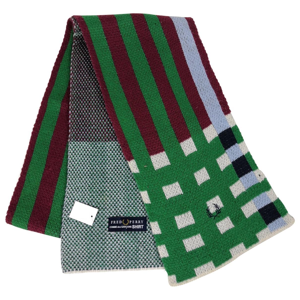 Comme Des Garcons \N Wool scarf & pocket squares for Men \N