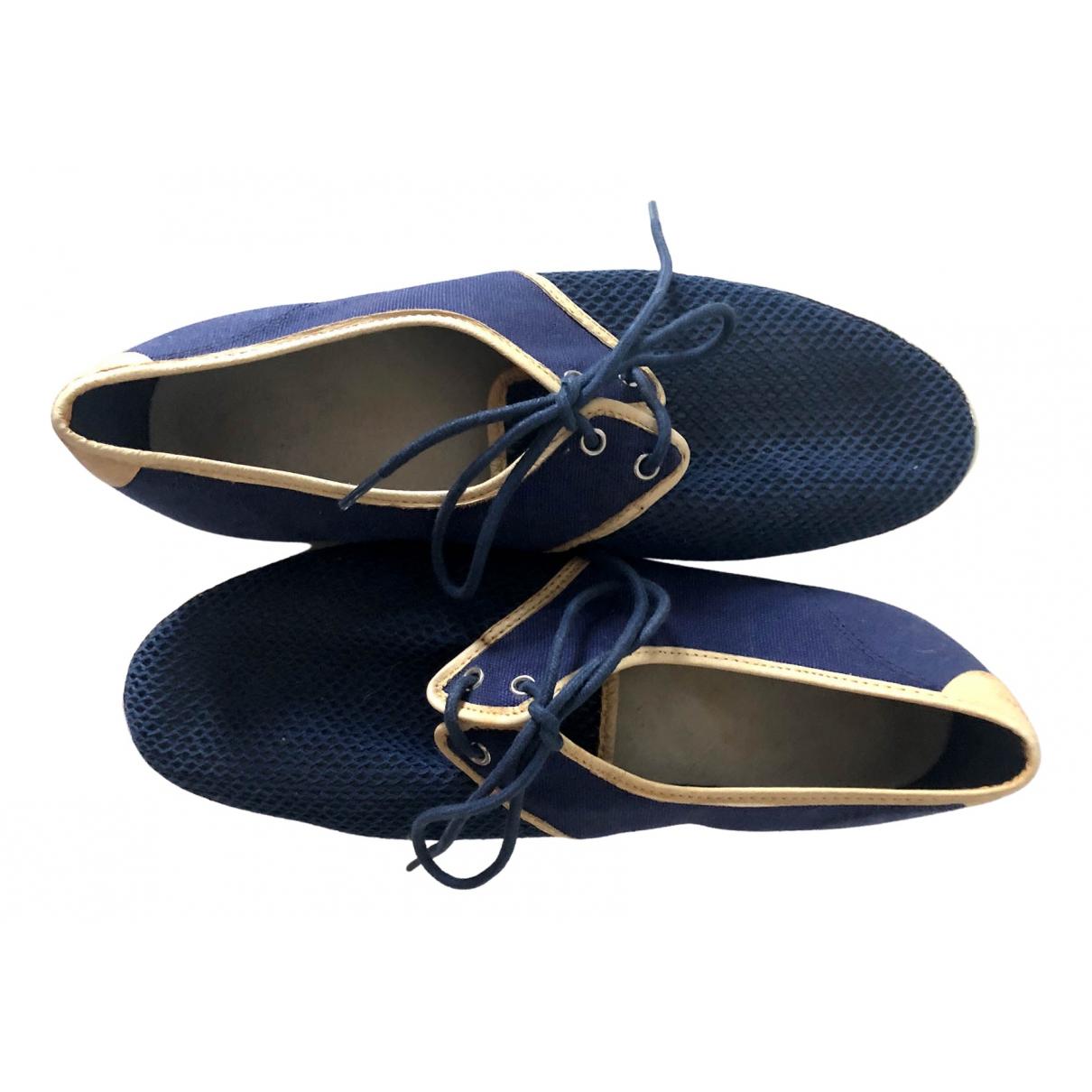 Feiyue \N Navy Cloth Sandals for Men 41 EU