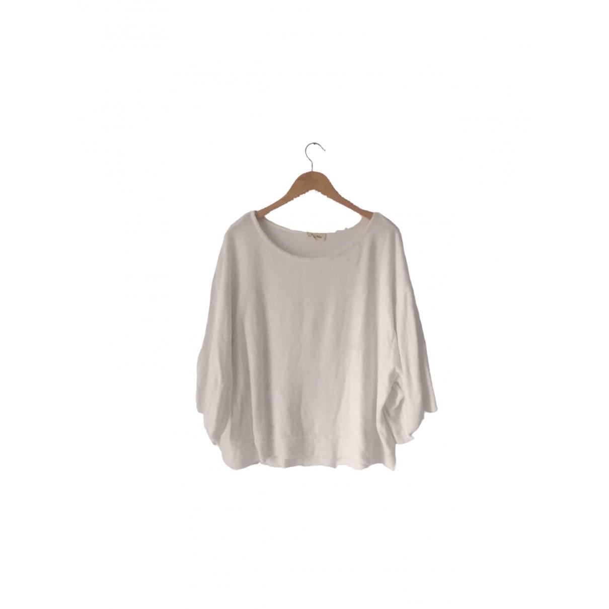 American Vintage \N Pullover in  Weiss Baumwolle