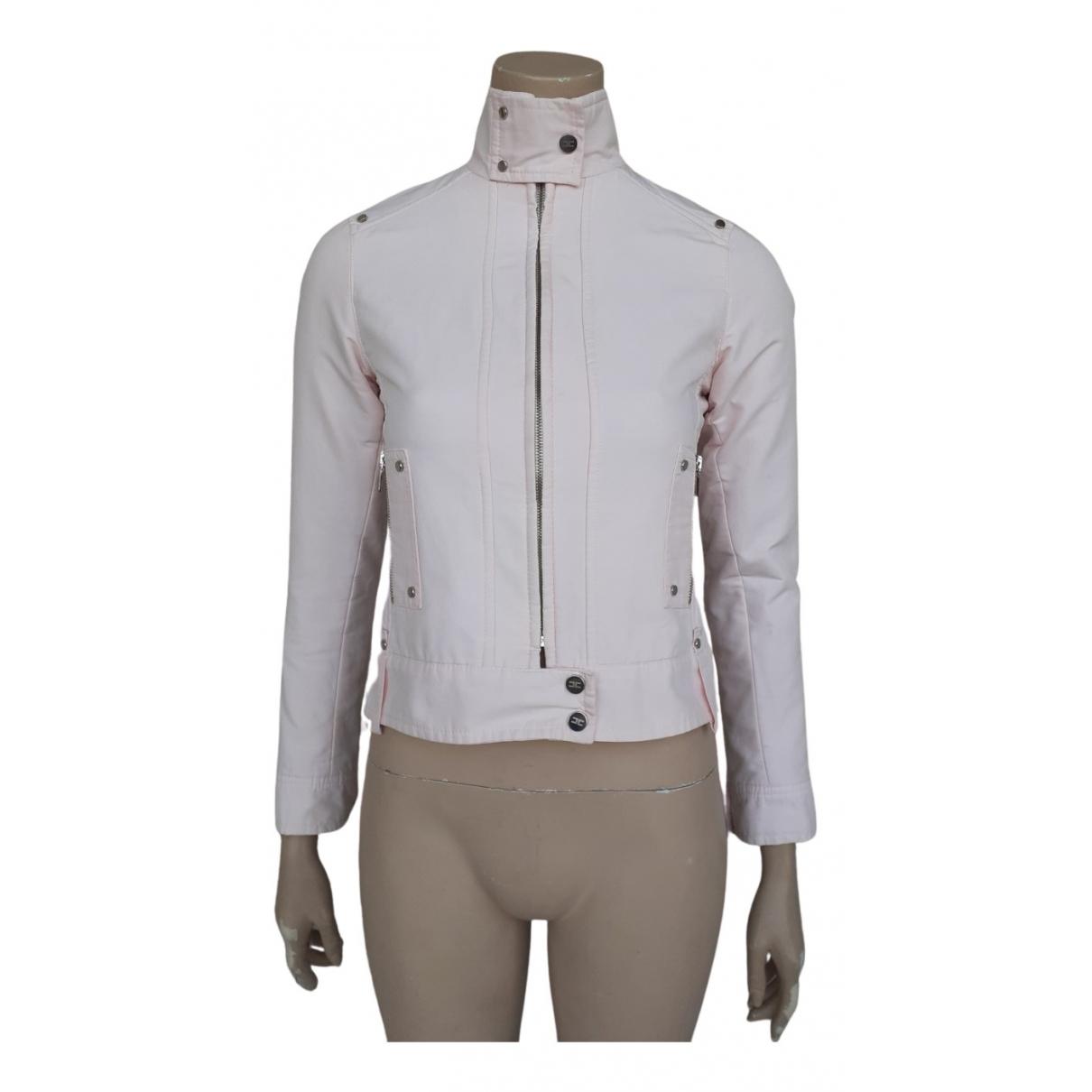 Elisabetta Franchi N Pink Cotton jacket for Women 40 IT