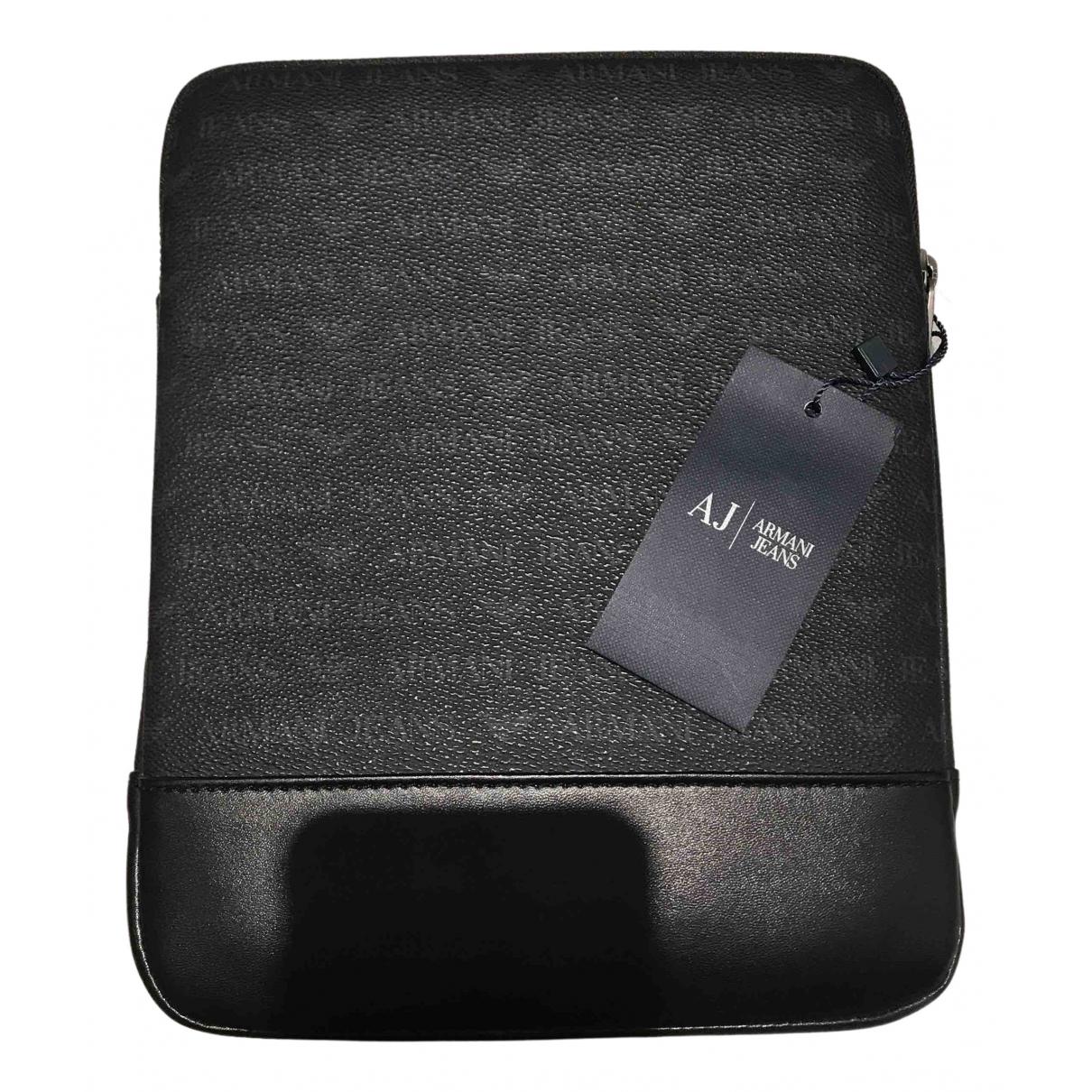 Armani Jean - Accessoires   pour lifestyle en cuir - noir