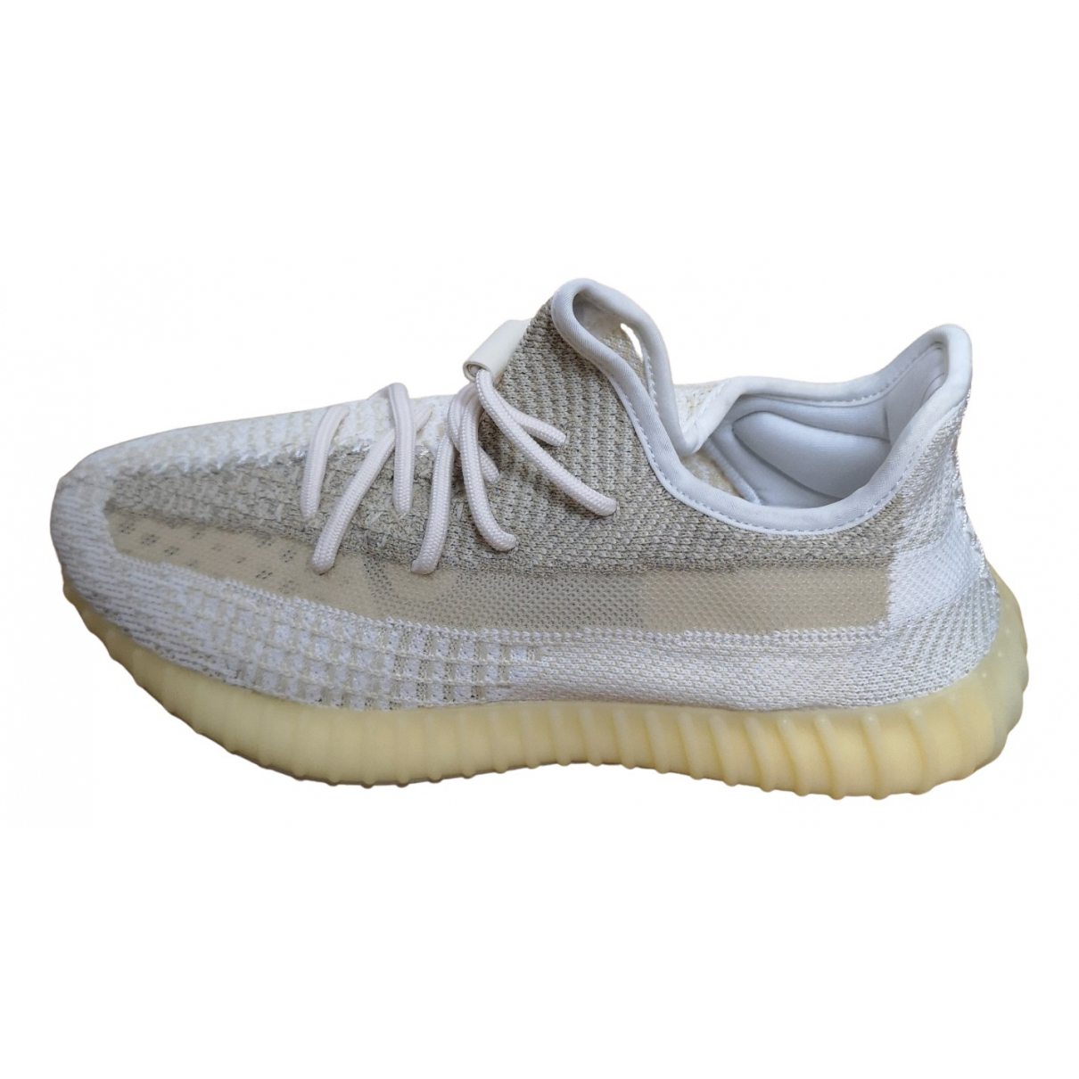 Yeezy X Adidas Boost 350 V2 White Cloth Trainers for Men 7.5 UK