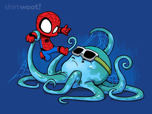 Spider Vs Octopus T Shirt