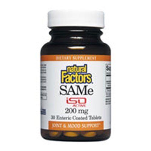 SAM-e 30 Tabs by Natural Factors