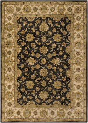 Crowne CRN-6009 8' x 11' Rectangle Traditional Rug in