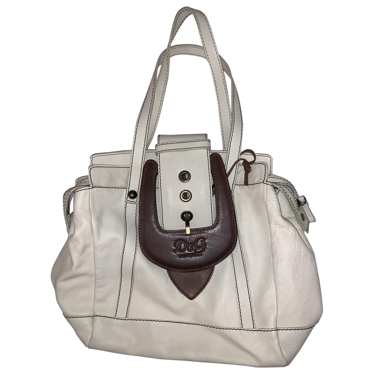 D&g \N Beige Leather handbag for Women \N
