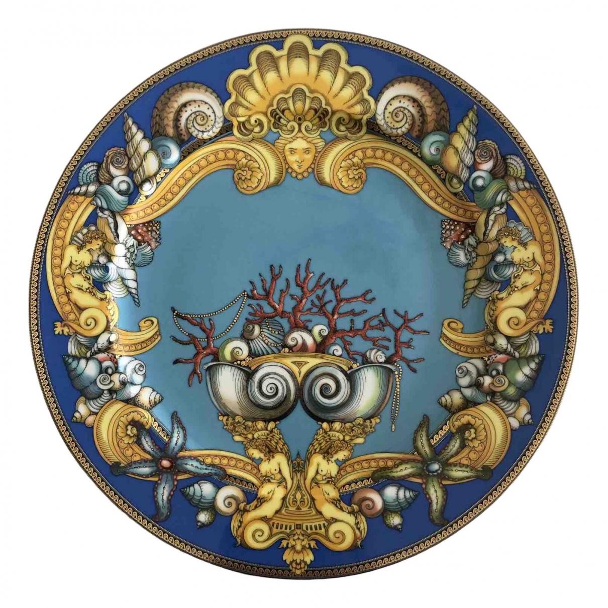 Versace - Arts de la table   pour lifestyle en porcelaine - turquoise