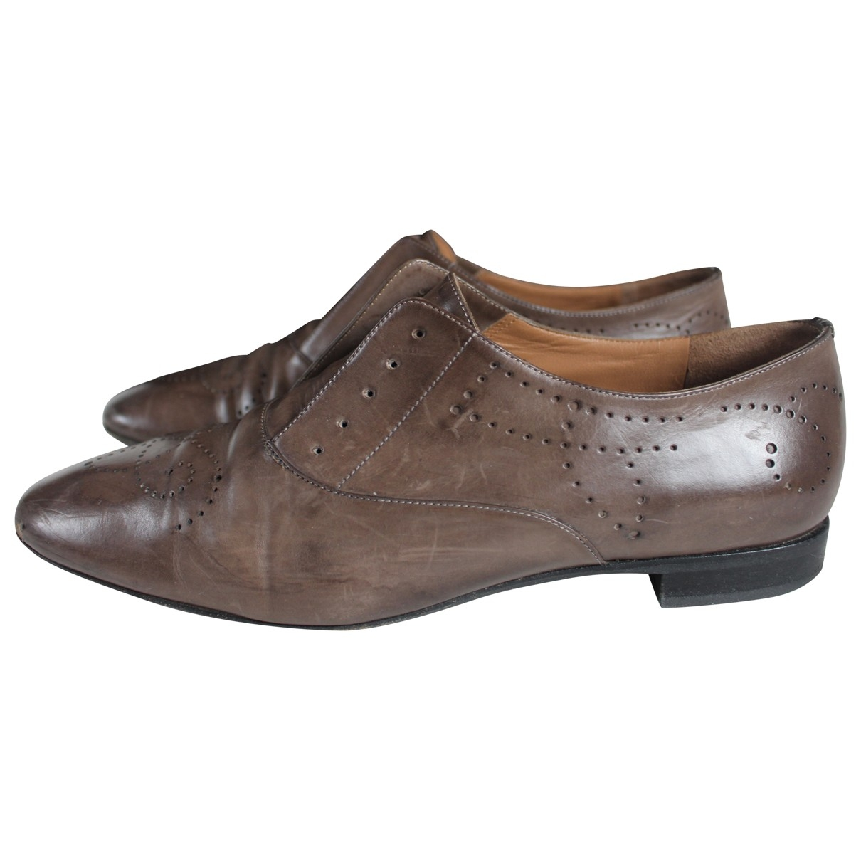 Fratelli Rossetti \N Leather Lace ups for Women 39.5 IT