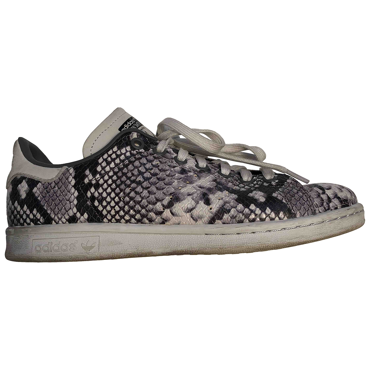Adidas - Baskets Stan Smith pour femme en caoutchouc - anthracite