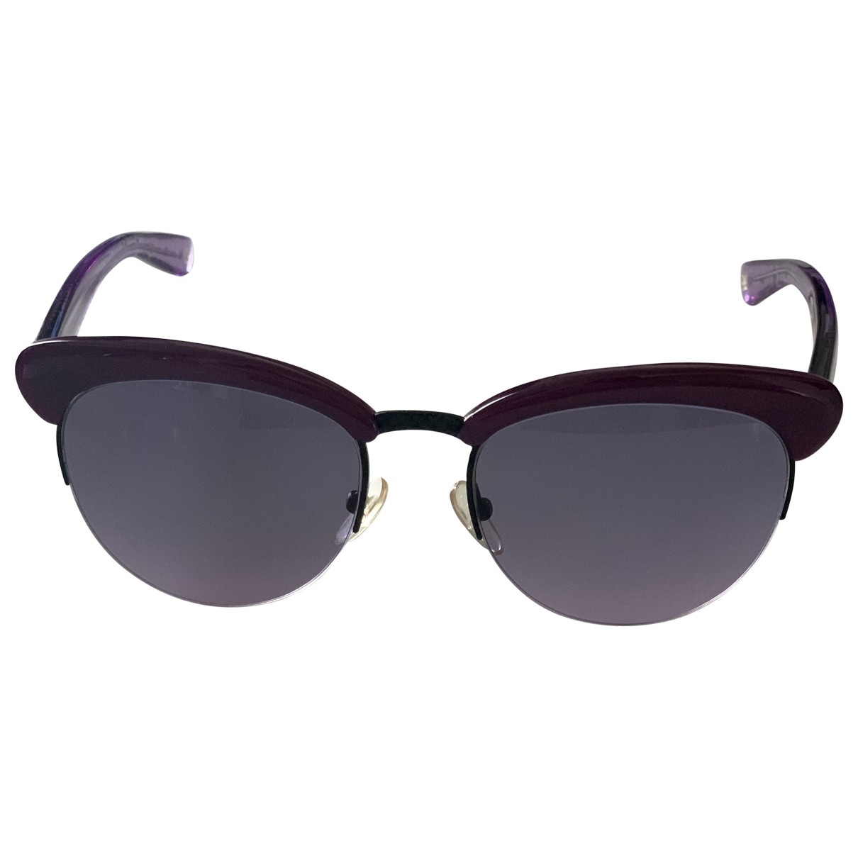 Bottega Veneta \N Purple Sunglasses for Women \N