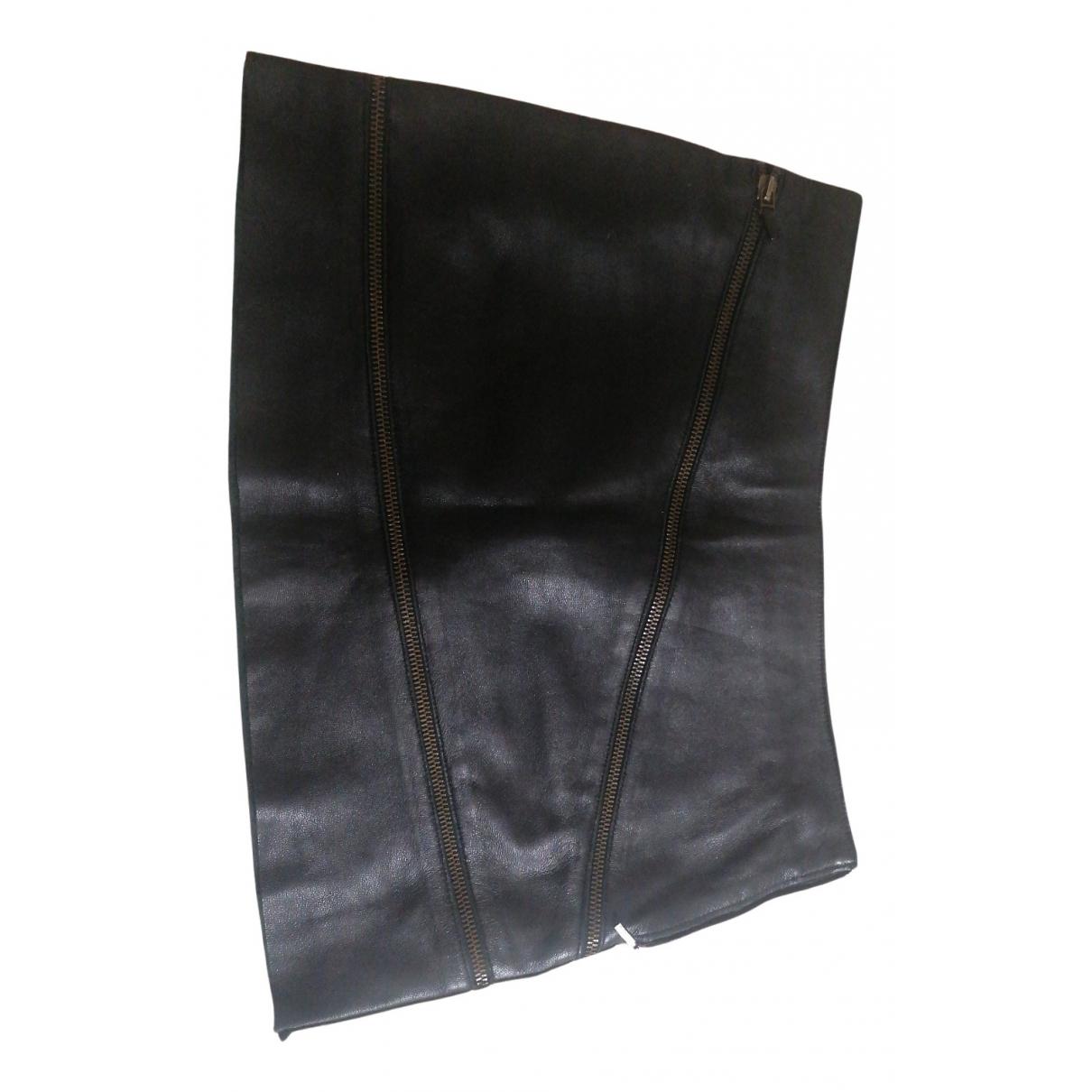 Versus \N Rocke in  Schwarz Leder