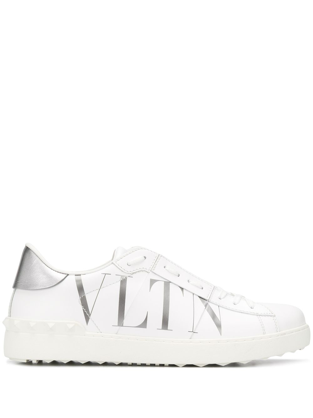 Open Vltn Leather Sneakers