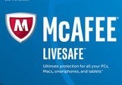 McAfee LiveSafe 2019 (3 Years / 1 Device)