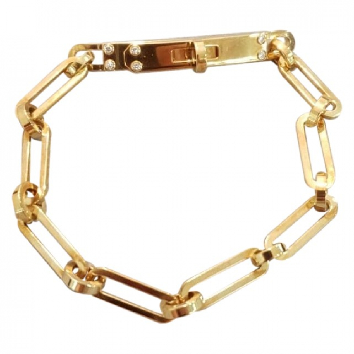 Hermes Kelly Armband in  Gold Gelbgold