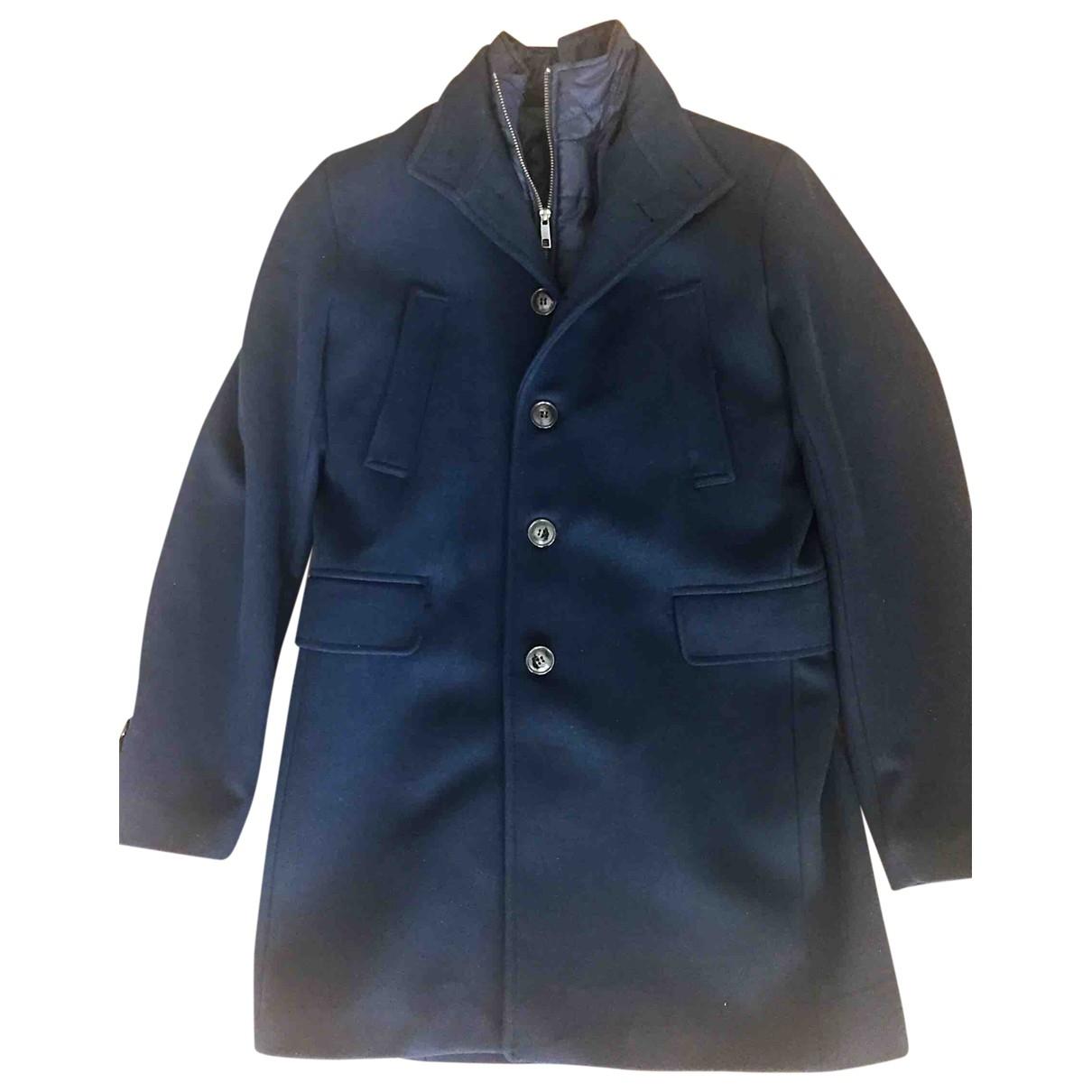 Zara - Manteau   pour homme - marine
