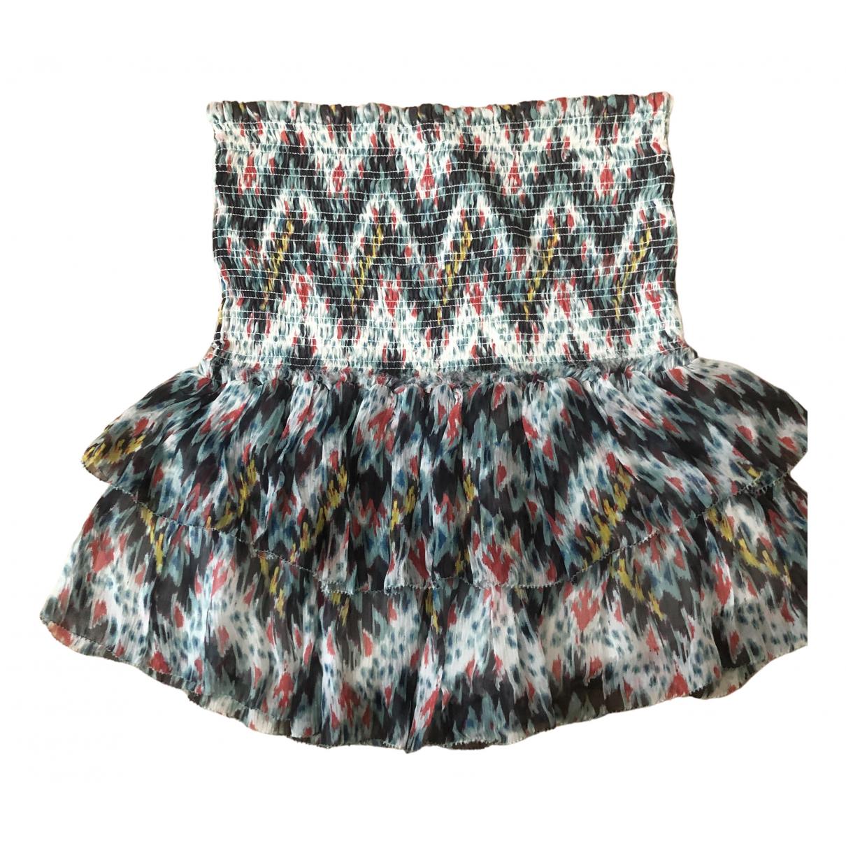 Isabel Marant Etoile \N Multicolour Silk skirt for Women 36 FR