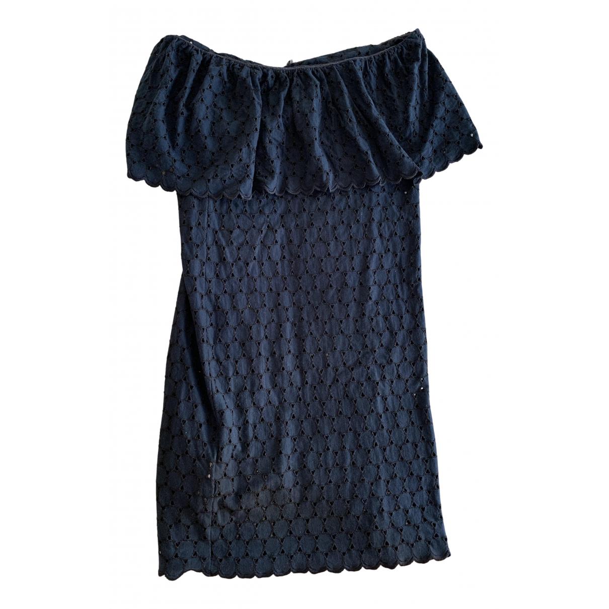 Miu Miu - Robe   pour femme en coton - marine