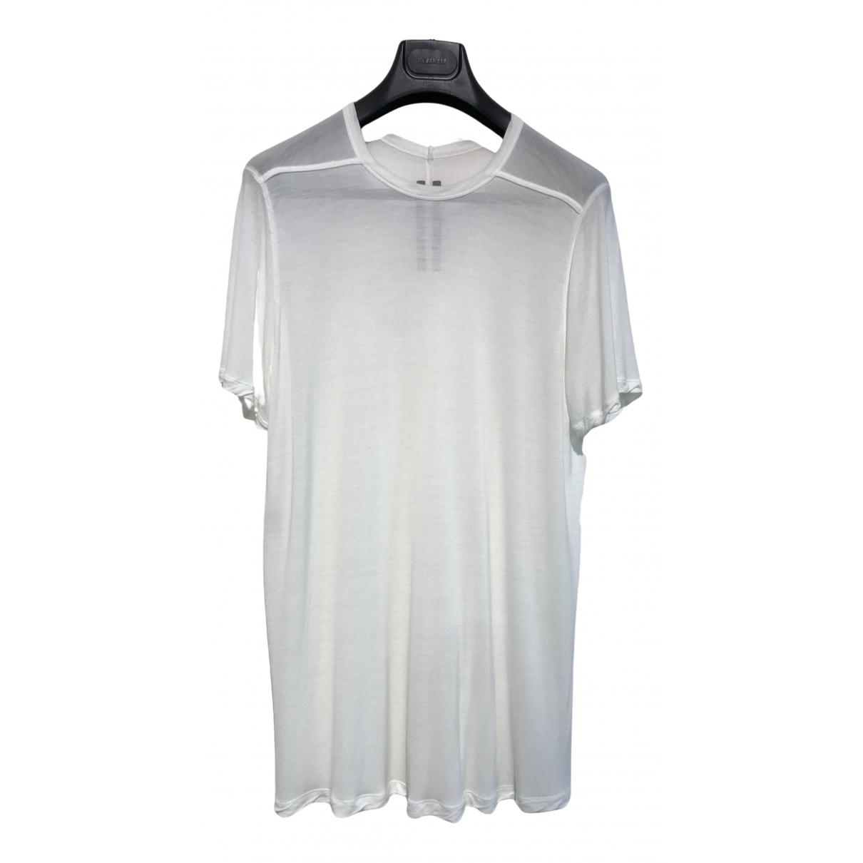Rick Owens - Tee shirts   pour homme - blanc