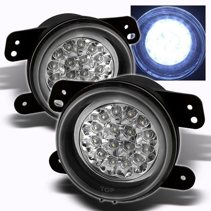 Spyder Chrome LED FOG LIGHTS DODGE MAGNUM 05-07/CHRYSLER 300 05-08