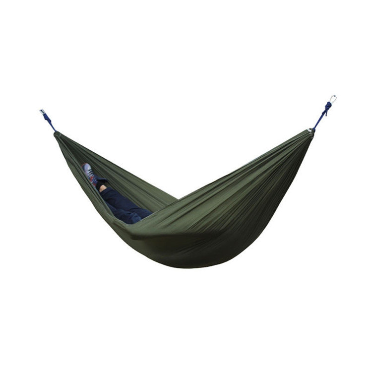 Portable 270x140CM Hammock Camping 210T Nylon Double Hanging Swing Bed Load 250KG