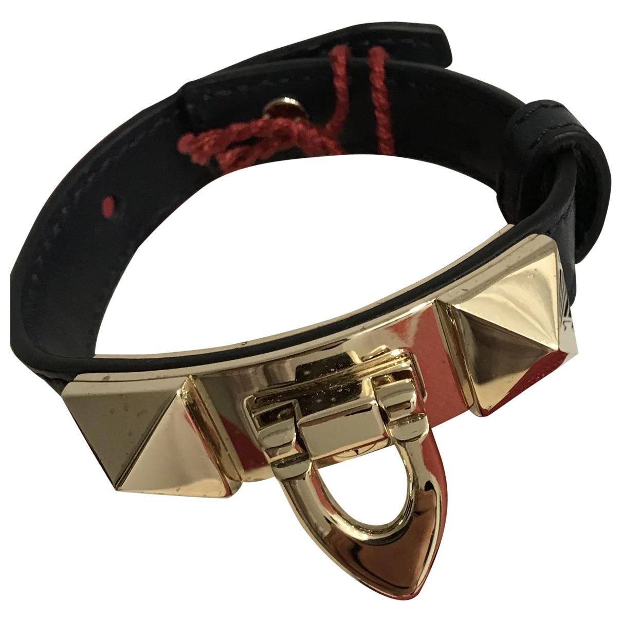Valentino Garavani \N Blue Leather bracelet for Women \N