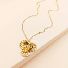 Gold Laessig Halsketten