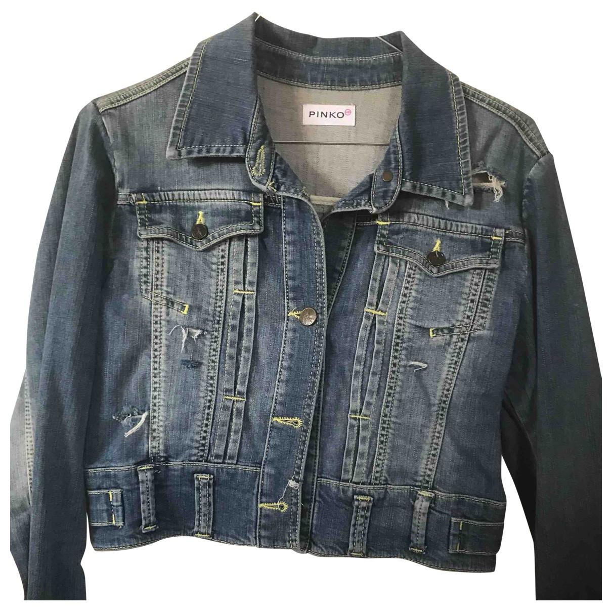 Pinko \N Jacke in  Blau Denim - Jeans