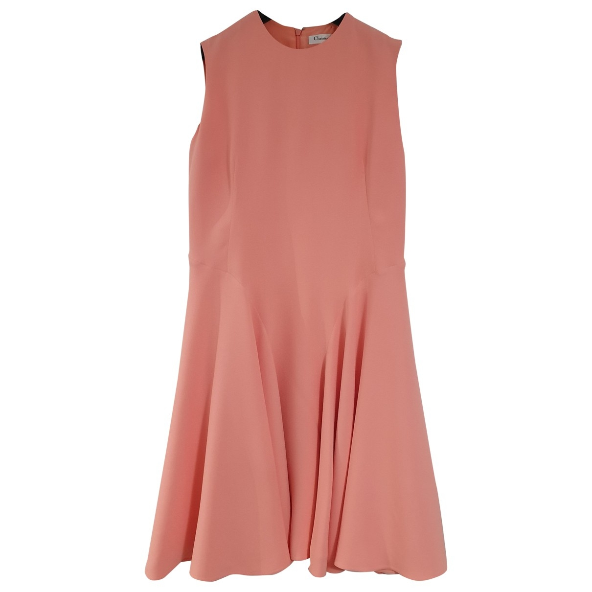 Dior \N Kleid in  Orange Seide