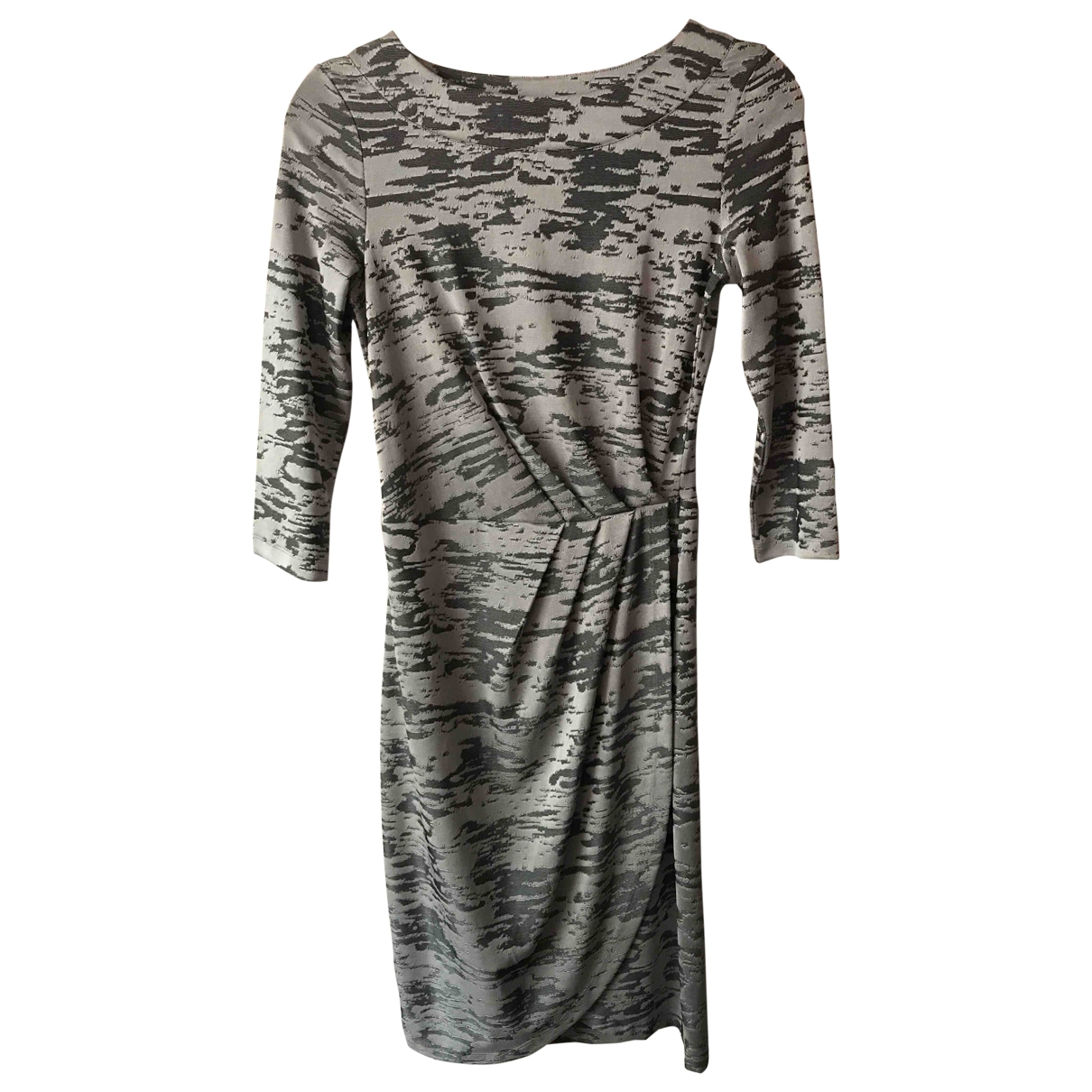 French Connection \N Kleid in  Grau Polyester